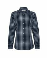 R.M. Williams Nicole Long Sleeve Shirt Navy/White