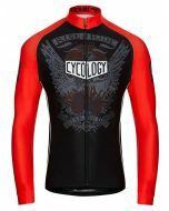 Cycology Mens Seize the Day Long Sleeve Jersey