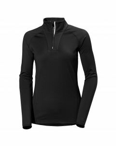 Helly Hansen Womens Phantom 1/2 Zip Skivvy - Black