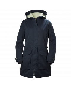 Helly Hansen Womens Kara Parka - Graphite Blue