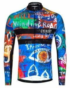 Cycology Mens Long Sleeve Jersey 8 Days