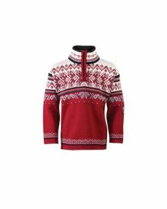 Dale Vail Kids Sweater-Red-K10