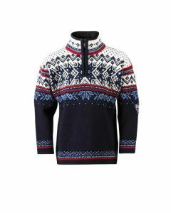 Dale of Norway Kids Vail Sweater - Navy