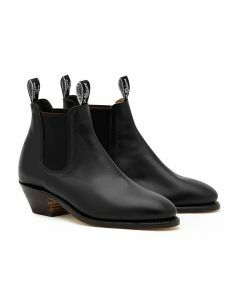 R.M. Williams Adelaide Cuban Heel Black