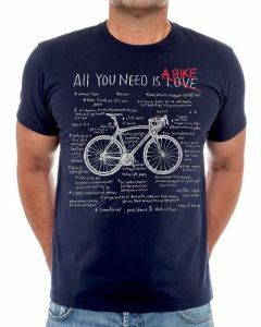 Cycology Mens All You Need Crew Neck Tee Navy