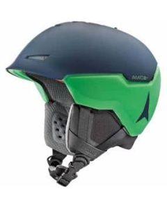 Atomic Revent+Amid Helmet - Blue/Green SMALL