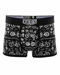 Cycology Mens Bike Maths Boxer Briefs Black