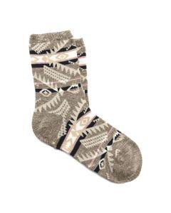 Birkenstock Ethno Linen Blend Socks Womens Faded Khaki