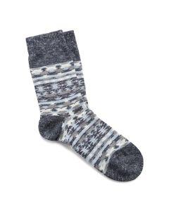 Birkenstock Ethno Linen Blend Socks Mens Midnight