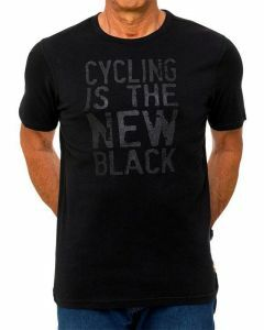 Cycology Mens Crew Neck Tee Cycling is the New Black