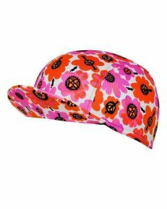 Cycology Cycling Cap Pedal Flower Pink