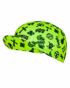 Cycology Cycling Cap Velosophy Green