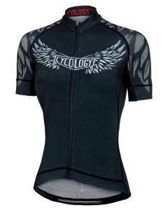 Cycology Women's Performance Cycling Jersey - Heaven's Devils