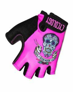 Cycology Cycling Glove - Day of the Living - Pink