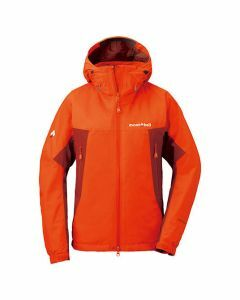 Montbell Womens Droites Parka -Sunset Orange