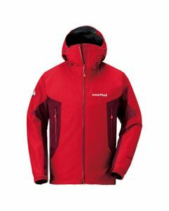 Montbell Droites Parka - Sunrise Red