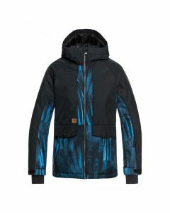 Quiksilver Boys Travis Rice Ambition Snow Jacket - Daphne Blue Stellar