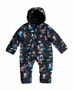 Quiksilver Baby Suit Black Snow Party