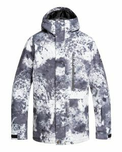 Quiksilver Mens Mission Printed Jacket