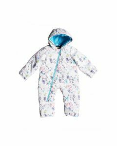 Roxy Toddler Rose Jumpsuit - Bright White/Animals Party