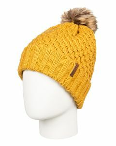 Roxy Blizzard Beanie-Yellow