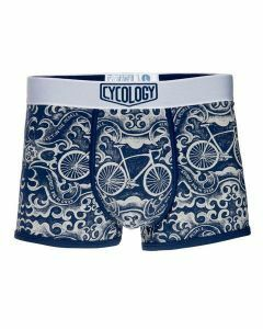 Cycology Mens Feet in the Pedals Boxer Briefs Navy