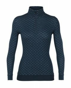 Icebreaker Womens Affinity Thermo Long Sleeve Half Zip