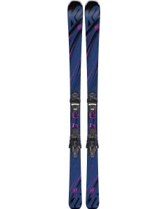 K2 Womens Endless Luv 80 Ski + ER3 10 TCX Binding