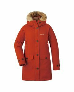 Montbell Womens Husky Coat - Brick