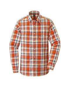 Montbell Wickron Light Long Sleeve Shirt Orange