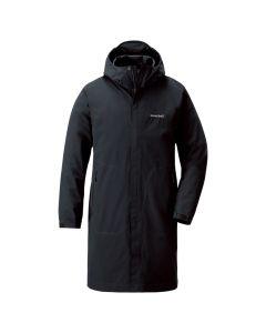 Montbell Mens Rambler Raincoat - Black