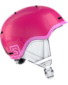 Salomon Grom Junior Helmet - Black-Pink-Youth S=49-53