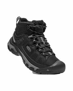 KEEN Men's Targhee EXP Mid WP Black Steel Grey