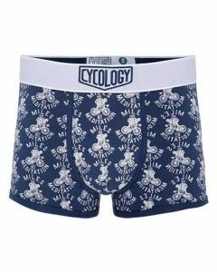 Cycology Mens Miles Are My Meditation Boxer Briefs Navy