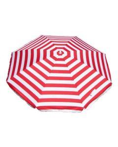 Shelta Noosa Umbrella - Red Stripe