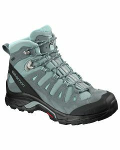 Salomon Womens Quest Prime Gore-Tex - Lead/Stormy Weather/Eggshell Blue