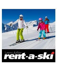 Rentaski Ski Package Silver