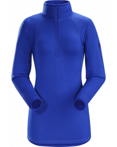 Arc'teryx Womens RHO AR Zipneck Somerset Blue
