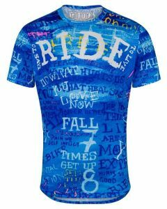 Cycology Mens Technical T-Shirt Ride Blue