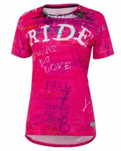 Cycology Womens Technical Tee Ride Pink