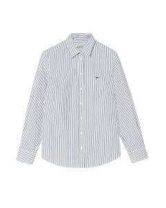 RM Williams Nicole Shirt - White Navy Stripe