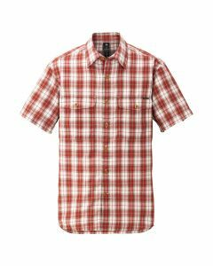 Montbell Wickron Light Short Sleeve Shirt - Rust