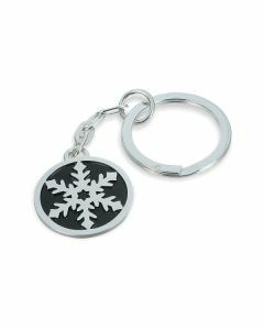 SnowJewel Snowflake Keyring