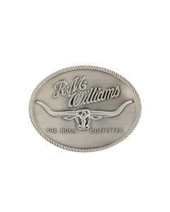 R.M. Williams Logo Buckle - Silver