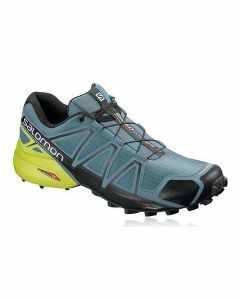 Salomon Mens Speedcross 4 - Bluestone/Black/Sulphur