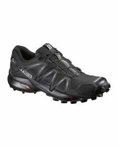 Salomon Womens Speedcross 4 - Black/Black/Black Metallic