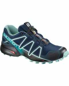 Salomon Womens Speedcross 4 - Poseidon/Eggshell/Black