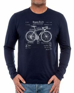 Cycology Mens Long Sleeve T-Shirt - The Blueprint