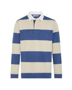 R.M. Williams Tweedale Rugby Stripe - Blue Bone