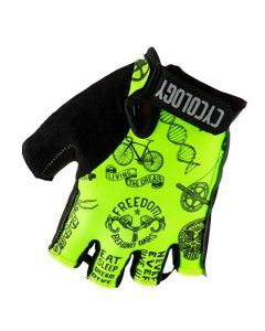 Cycology Cycling Gloves Velosophy Lime